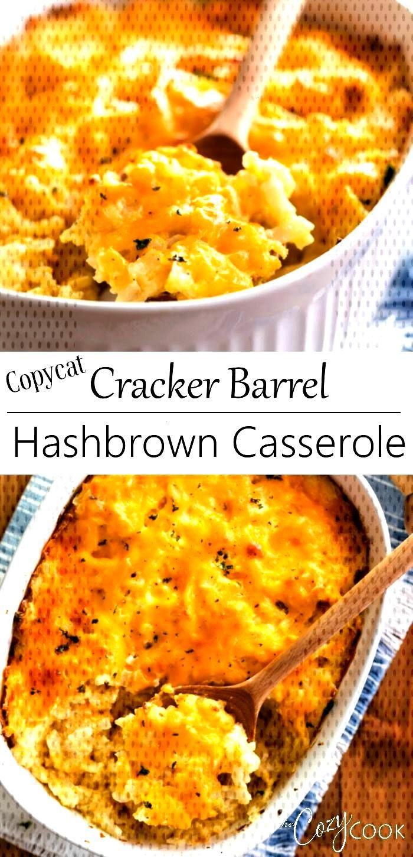 Copycat Cracker Barrel Hashbrown Casserole This Copycat Hash Brown Casserole is a perfect breakfast