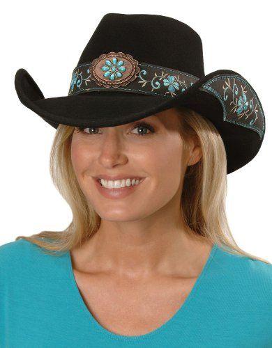Bullhide Women s All For Good Wool Cowboy Hat Black Small Bullhide 1d47655f8843