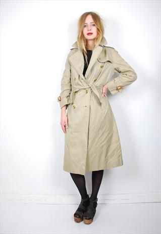 3e06d1389f2f75 Vintage Burberry's trench coat   happy in 2019   Coat, Burberry ...