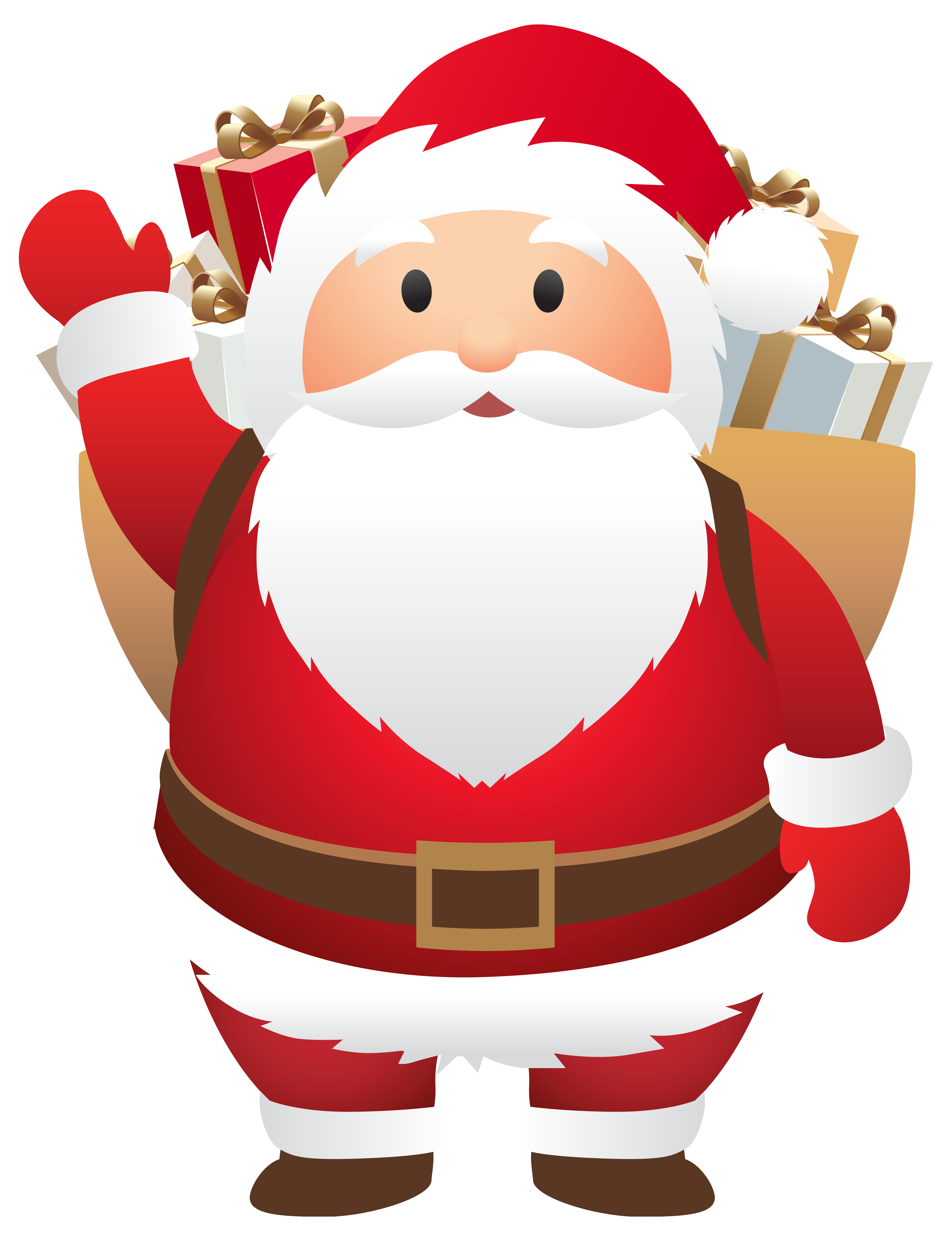 Cute Santa PNG Clipart Image Gallery Yopriceville High
