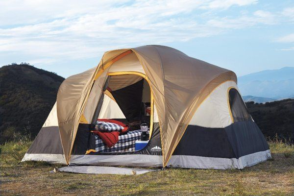 On my list Northwoods 6-person tent. I HATE cr&ed c&ing. Best & On my list: Northwoods 6-person tent. I HATE cramped camping. Best ...