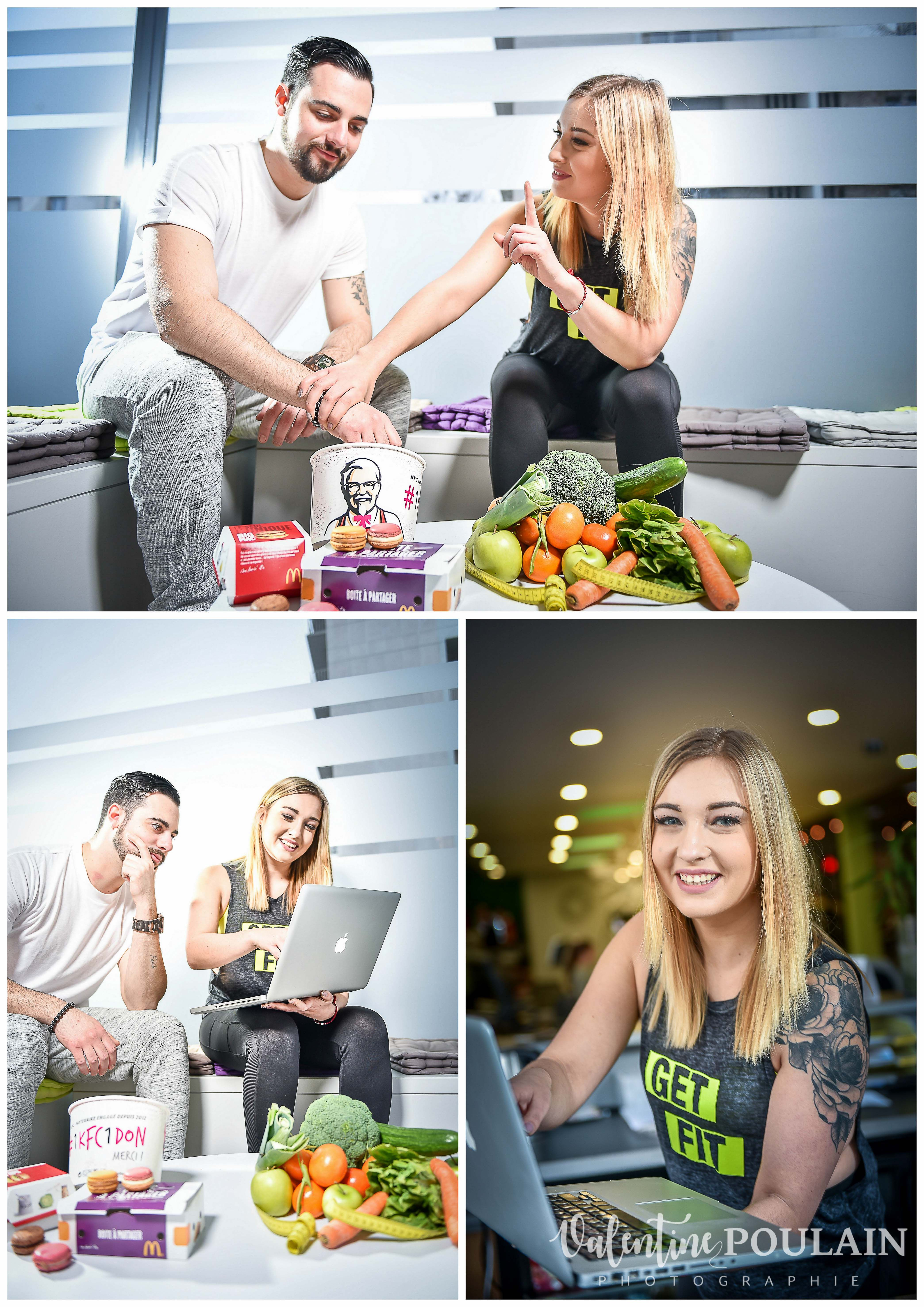 Shooting 100 nutrition & fitness Valentine Poulain