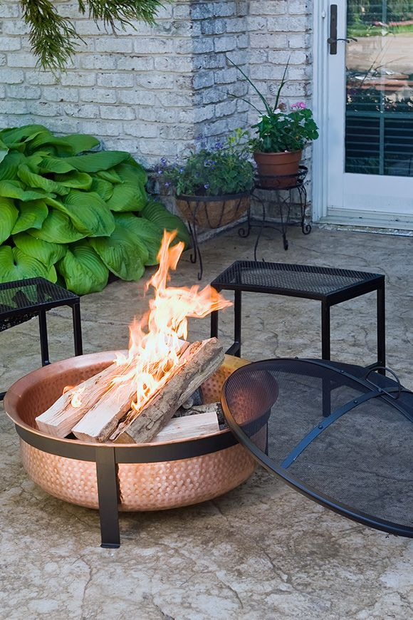 Love This Copper And Steel Fire Pit Visit Stonecountyironworks