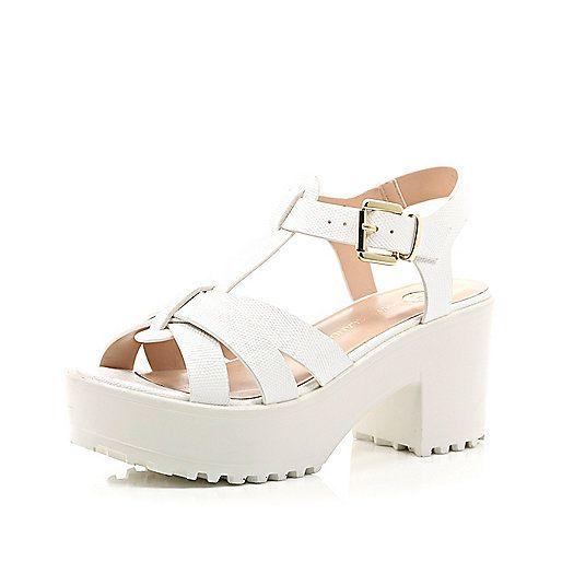 River Island Sandals - white c8oyzXjH5K