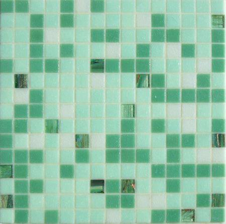 Pâtes de Verre Saona, mosaïque salle de bain ou carrelage piscine