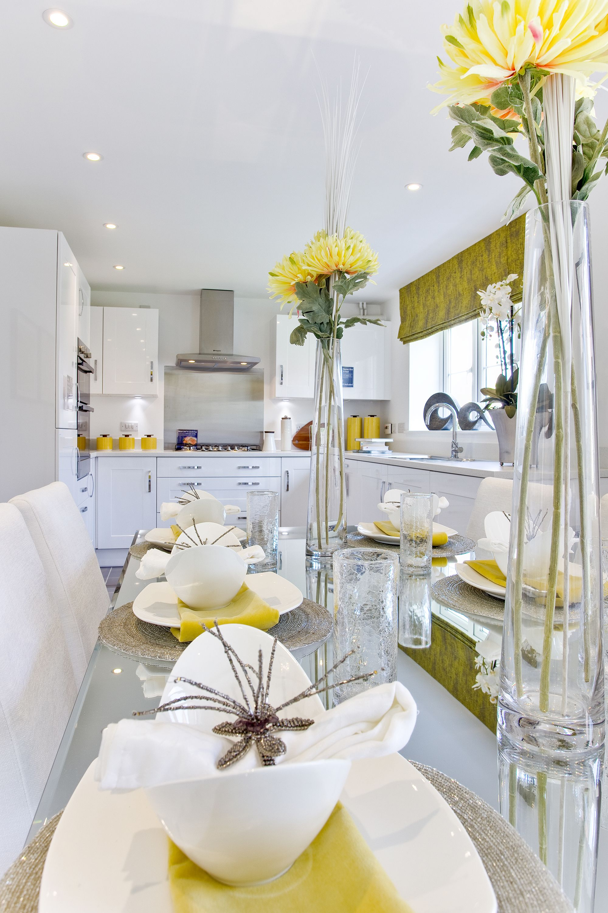Cool Table Setting & Cool Table Setting | Kitchen/Dining Room Combo | Pinterest ...