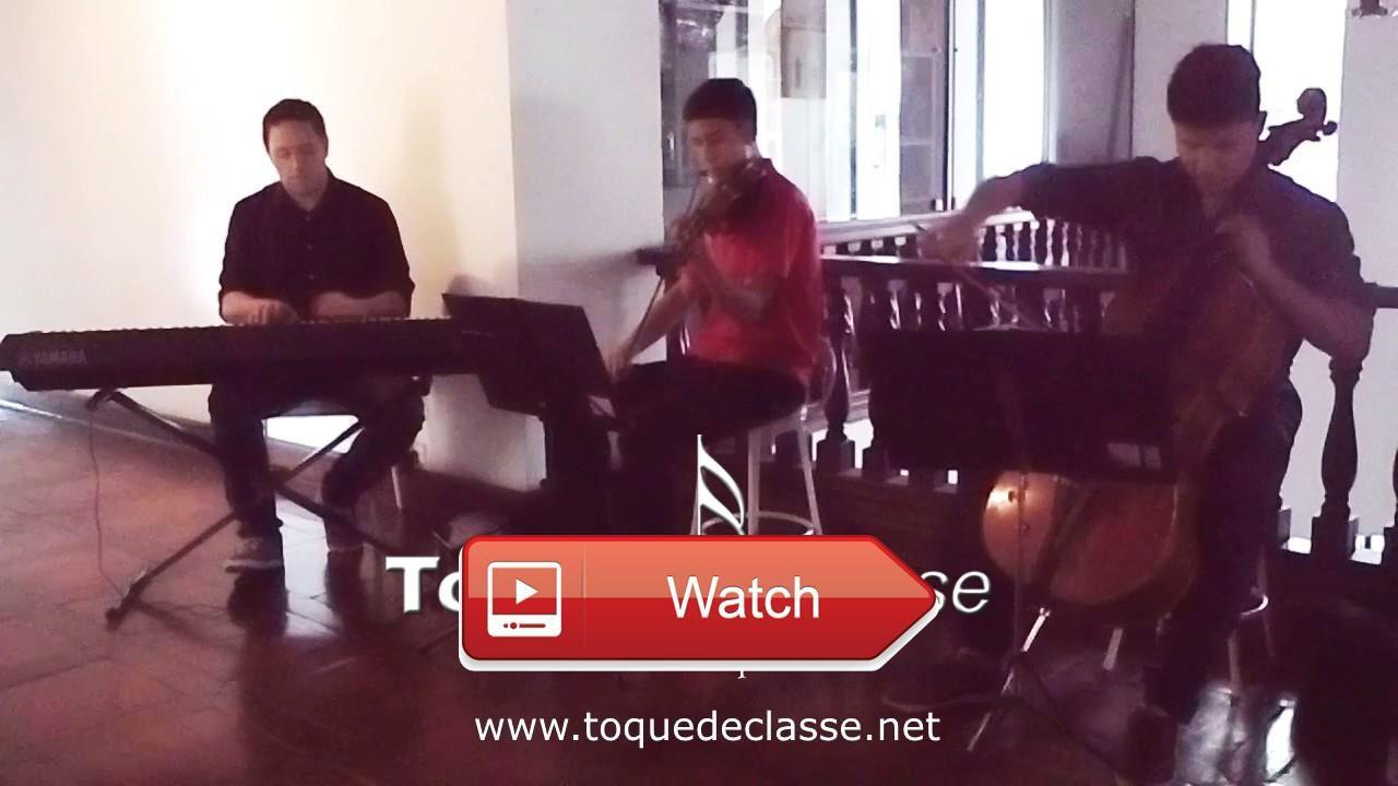 Sugar Maroon Piano Violino Cello  Sugar Maroon Ensaio Trio Piano Violino Cello