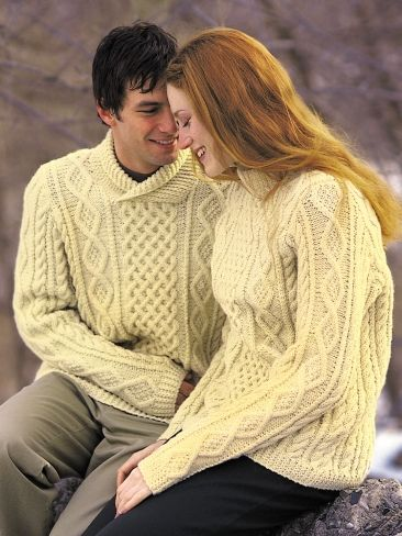 0cd0ef9055e60 Free Pattern - Strong honeycomb cabled pullover with crew neck and  cross-over collar options.  knit  cables  sweater