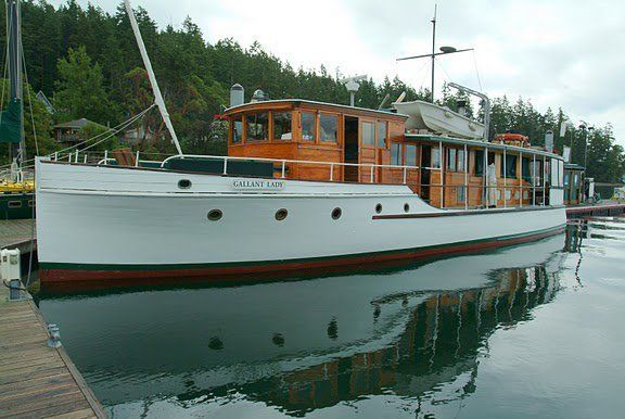 65' Classic Boat - Great Liveaboard I just really like this picture