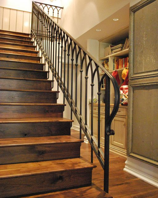 Iron Stair Railings Interior Stairs Design Design Ideas