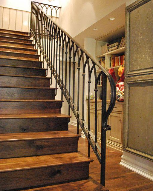 14 Terrific Iron Stair Railing Designs Pic Ideas ...