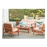 Dune Deep Seating Outdoor Furniture 4-Piece Set With ... on Dune Outdoor Living id=48303
