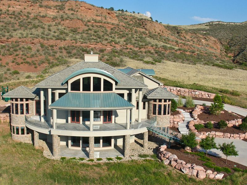 Evan Aire Modern Home Mountain House Plans House Plans Contemporary House Plans
