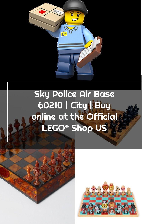 Sky Police Air Base 60210 City Lego Shop In 2020 Lego Police City