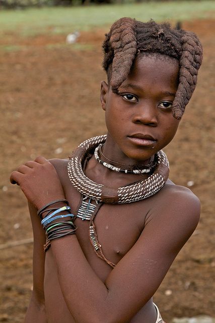 young girl in africa naked