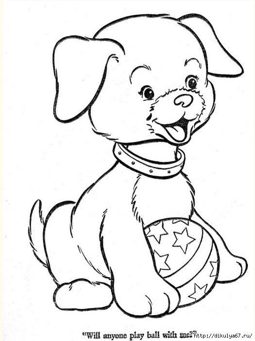 роли картинка собаки для аппликации может создать иллюзию