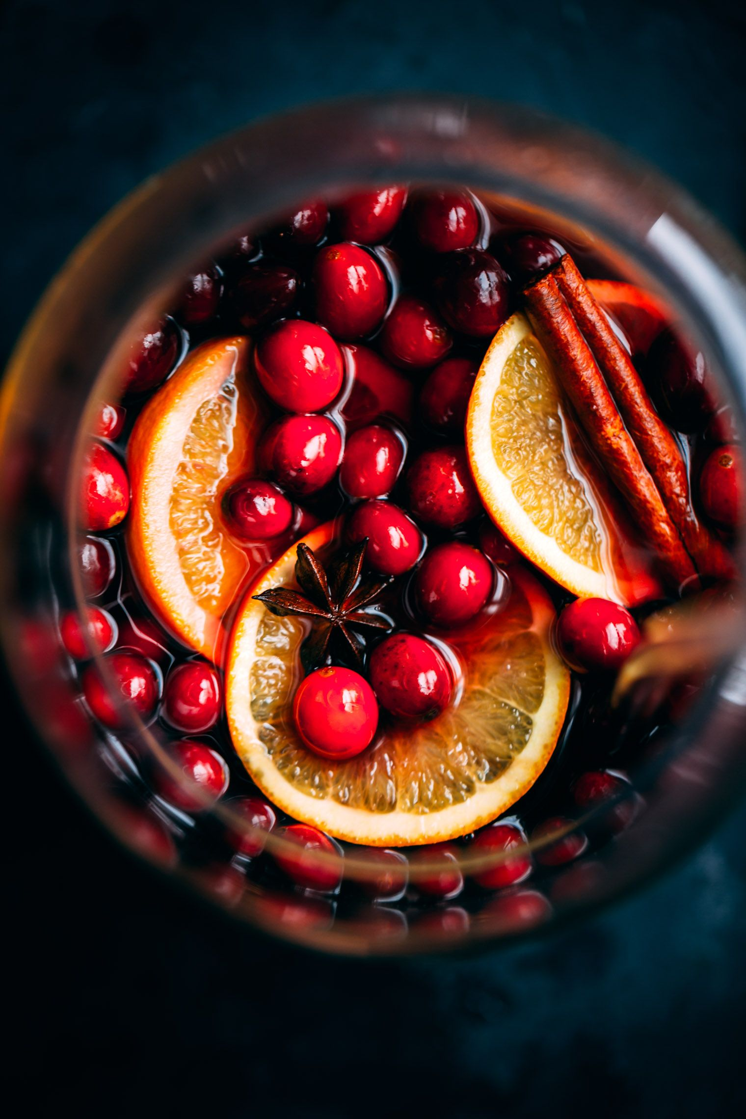 This Cranberry Molasses Mulled Wine Recipe Is Perfect For Chilly Winter Evenings Or Big Holiday Events Serve It With A Few Ora Punch Recipes Food Wine Recipes