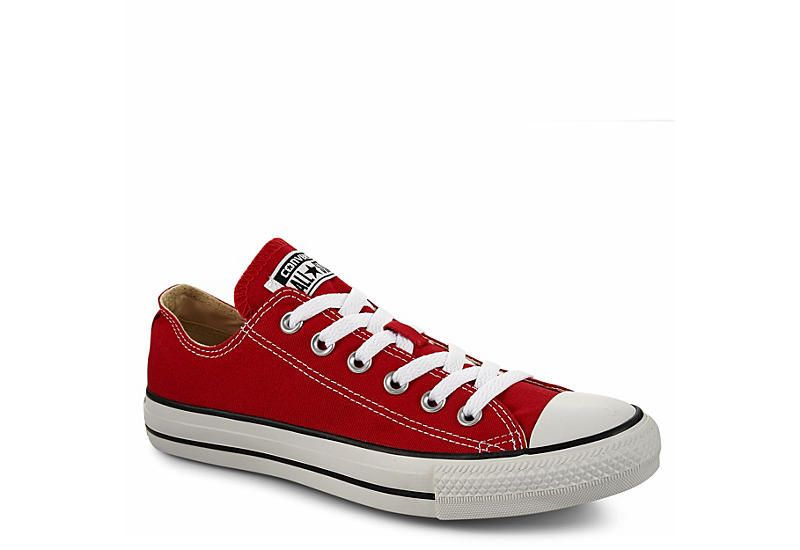 Converse Unisex Chuck Taylor All Star Low Red With Images