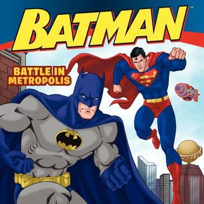Cover image for Batman Classic: Battle in Metropolis