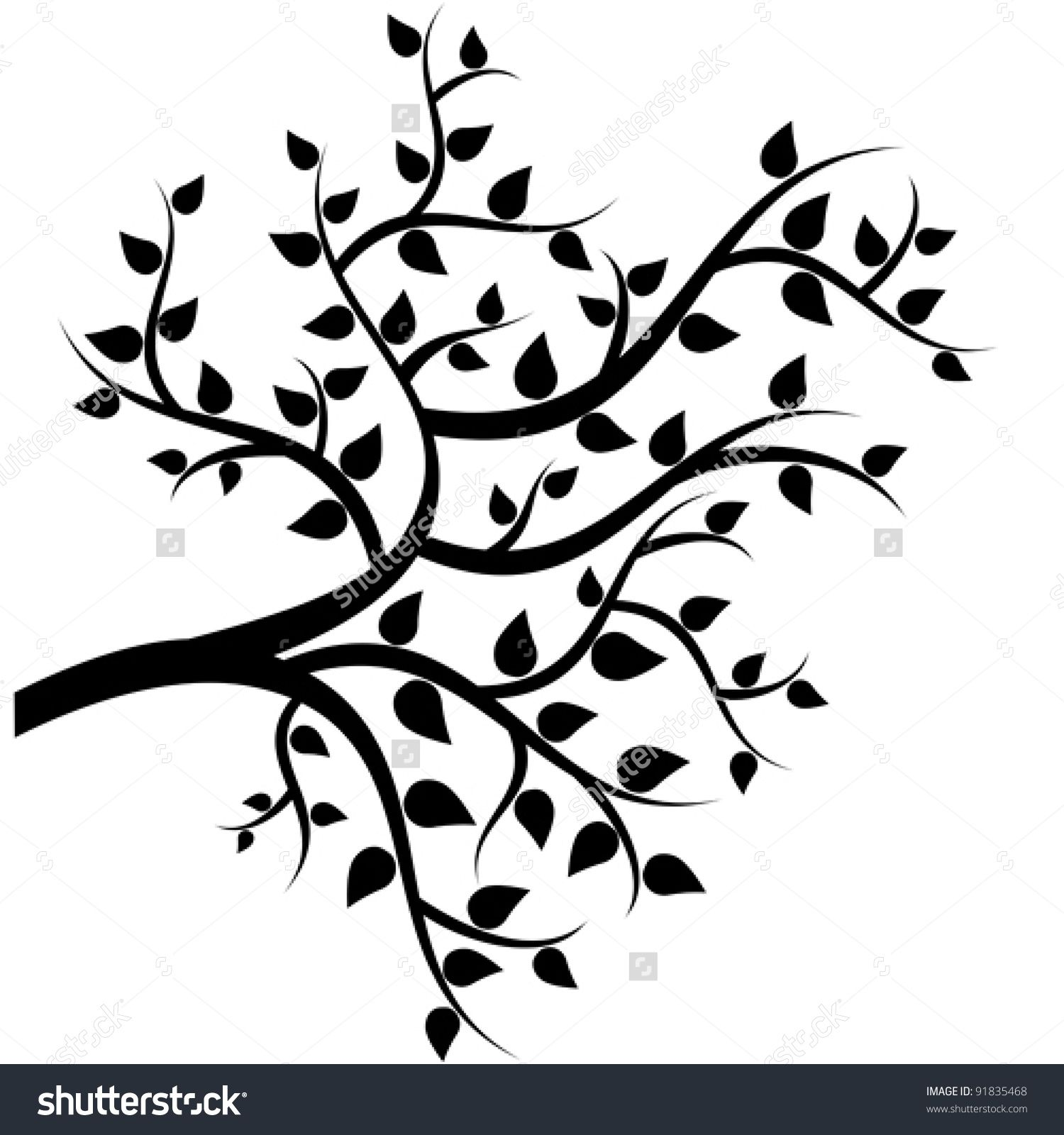 Related image Leaf drawing, Branch drawing, Tree drawing