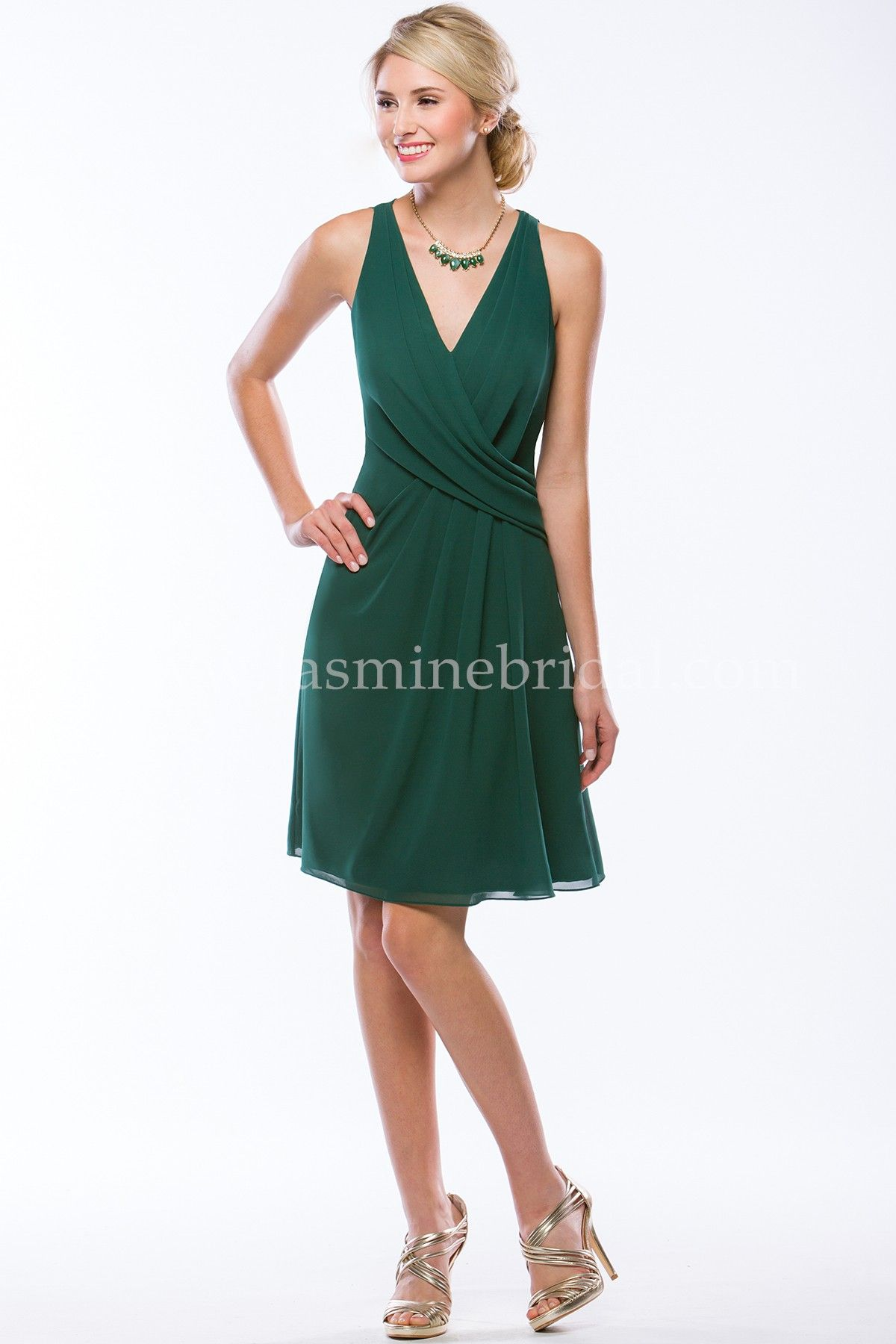 Jasmine bridal bridesmaid dress jasmine bridesmaids style p176056k jasmine bridal bridesmaid dress jasmine bridesmaids style p176056k in hunter green this georgette bridesmaid ombrellifo Images