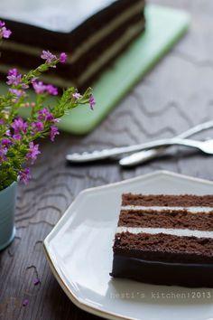 African Gateau Makanan Penutup Coklat Kue Bolu Makanan
