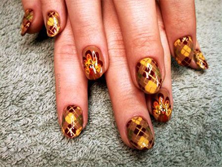 30 Best Thanksgiving Nails Art Designs Ideas 2016 2 Nailed It
