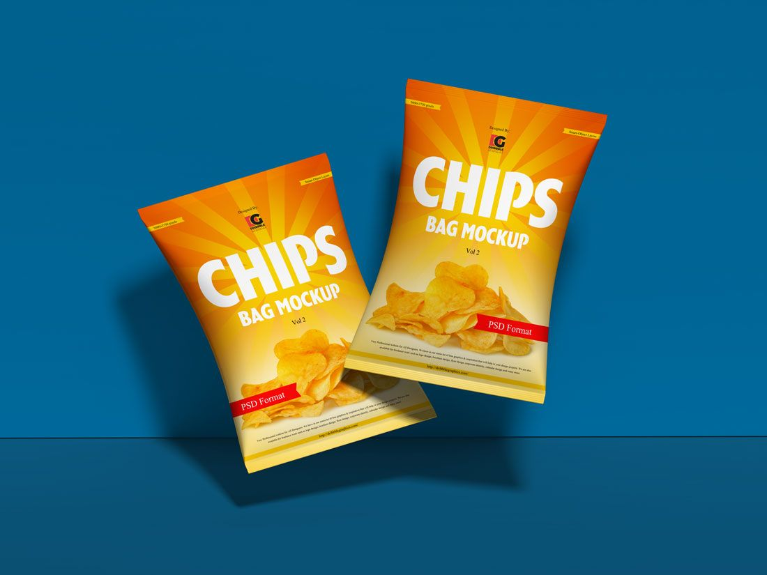 Download Chips-Bag-Mockup-Free | Bag mockup, Chip bag, Packaging mockup