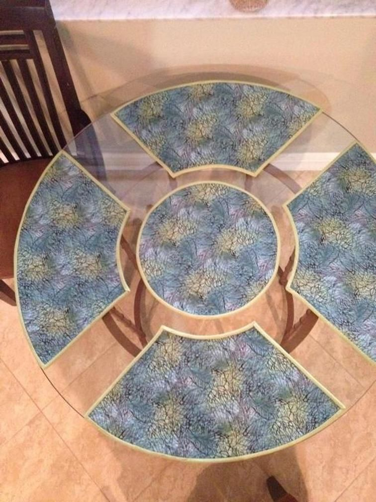 Pattern For Placemats For Round Table.Merry Go Round Table Mats Craftsy Place Mats Round