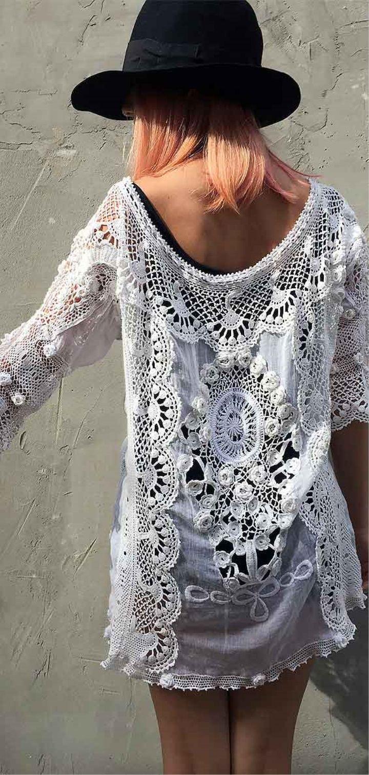 Crochet Beach Dress and Summer Dress #crochetbeachdress Crochet Beach Dress and Summer Dress #crochetbeachdress