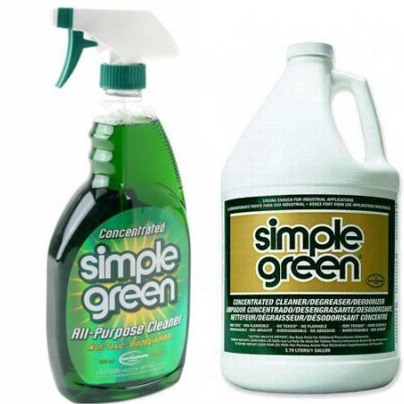 All Over Simple Green Cleaner Green Cleaning Eco Friendly Cleaners