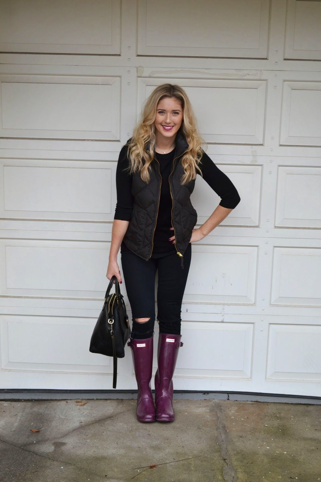 outfit, Hunter boots, Winter outfits