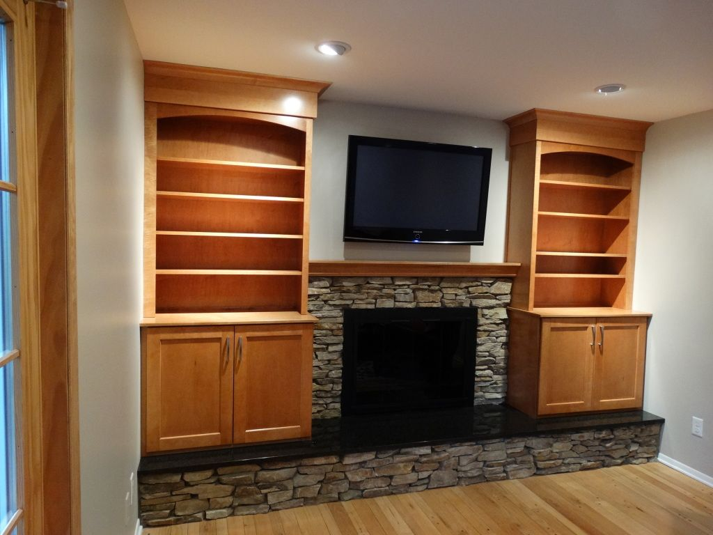 We Do It All An Ann Arbor Fireplace And Front Door Remodel