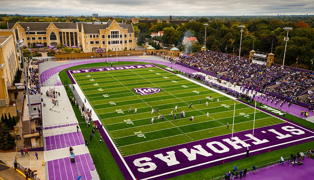 Oshaughnessy stadium is the home field for the st thomas