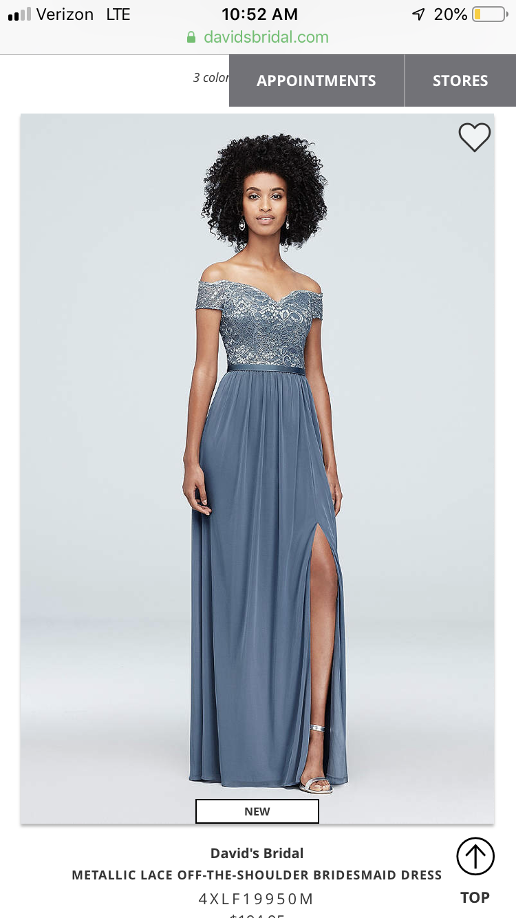 a63bff936a110 Dana's Maid of Honor Dress | Wedding 2020 in 2019 | Romantic ...