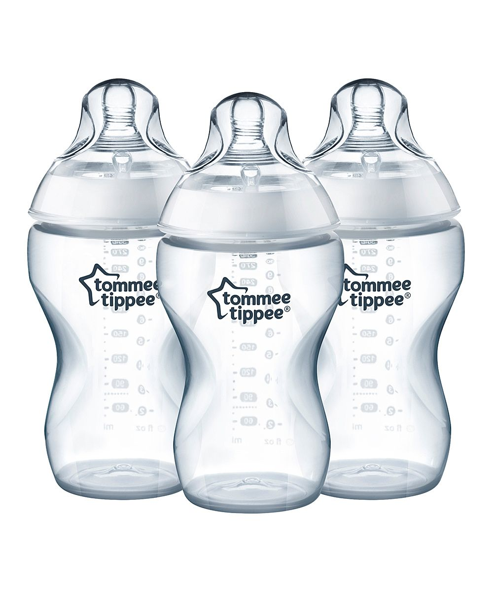 Clear 11 Oz Closer To Nature Added Cereal Bottle Set Of Three Baby Bottles Tommee Tippee Best Baby Bottles