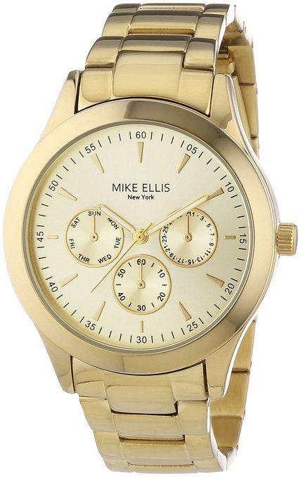 7d9c57614d4f Mike Ellis New York - Reloj Analógico de Cuarzo para Mujer