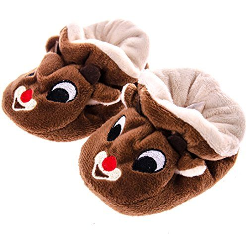 441ffc4fe3be These Rudolph Slippers are irresistibly cute. Designed from the beloved  character Rudolph from the classic