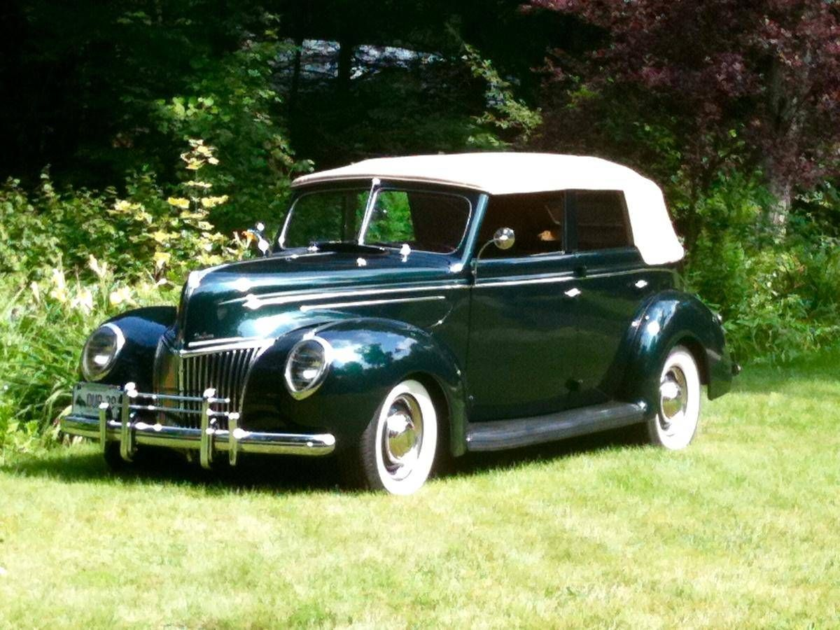1939 Ford Deluxe 4 Door Convertible | Ford | Pinterest | Ford ...