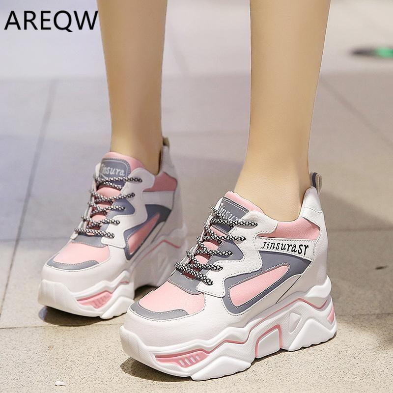 high heel sneakers for women