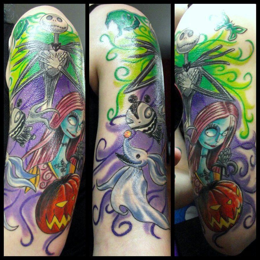 Nightmare Before Christmas tattoo | Tattoos I love | Pinterest ...
