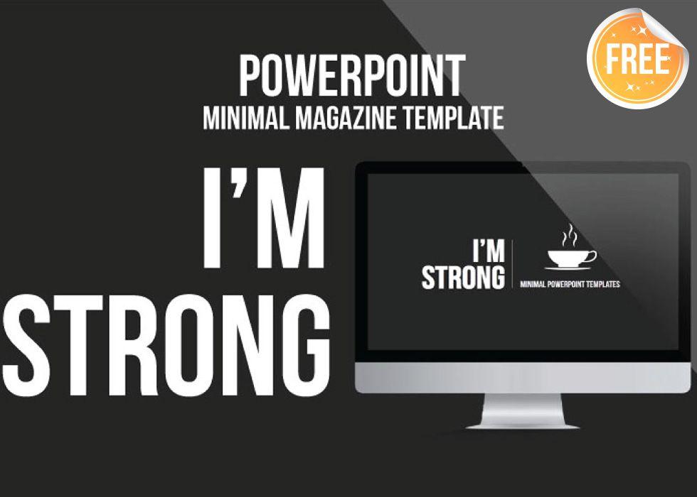 Personal CV Powerpoint Template by Ryanda on @creativemarket - elegant powerpoint template