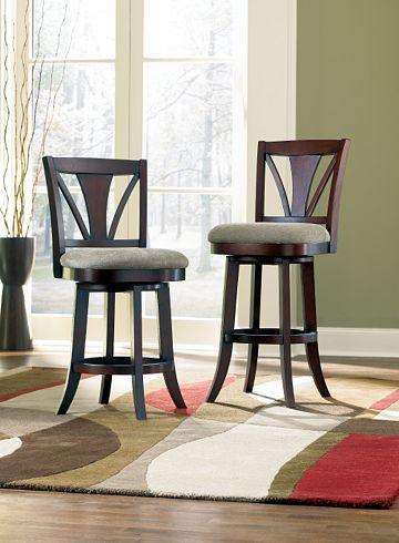Chairs Gideon Swivel Barstool Chairs Havertys