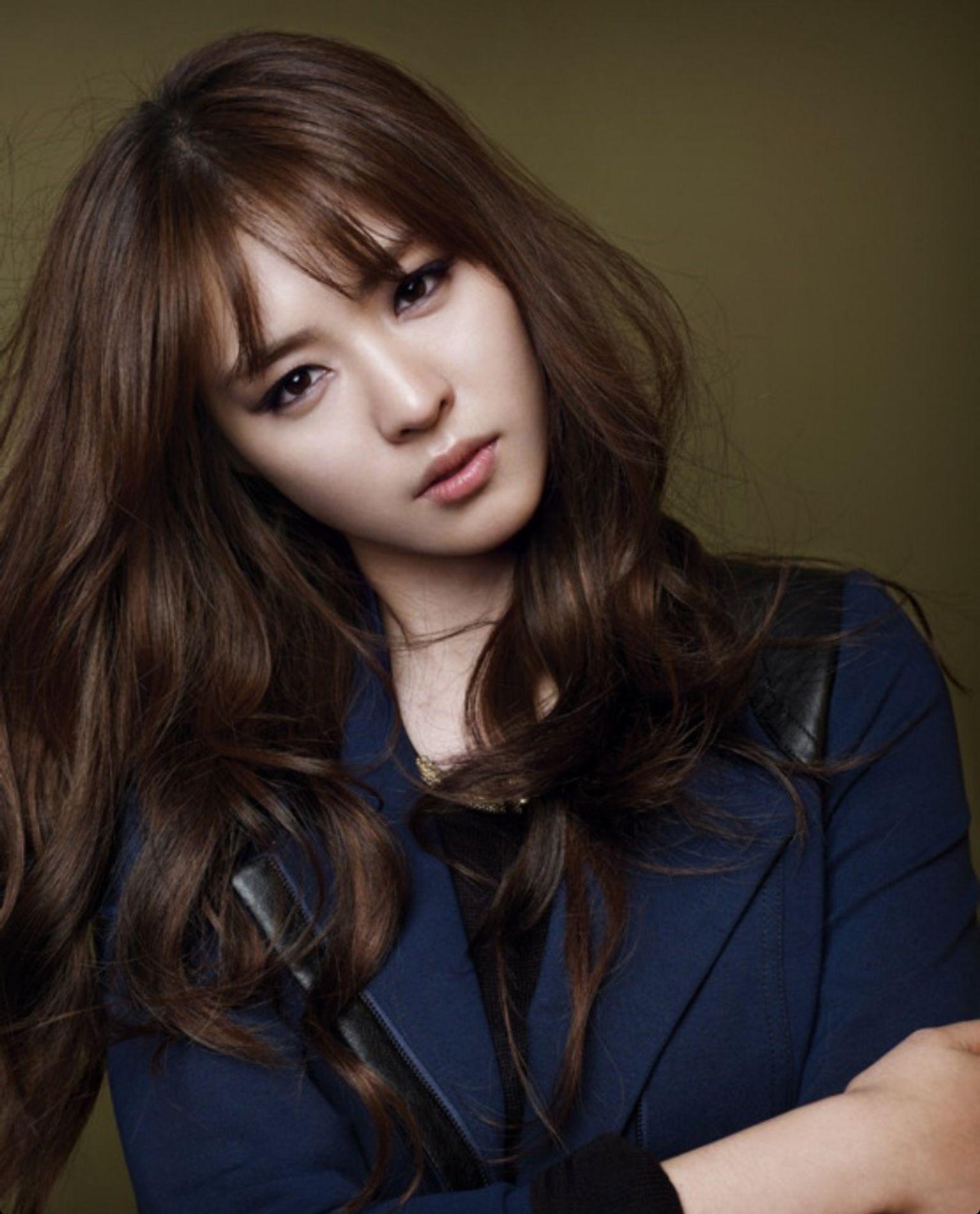 Yeonhee Hair Color Asian Asian Brown Hair Asian Hair