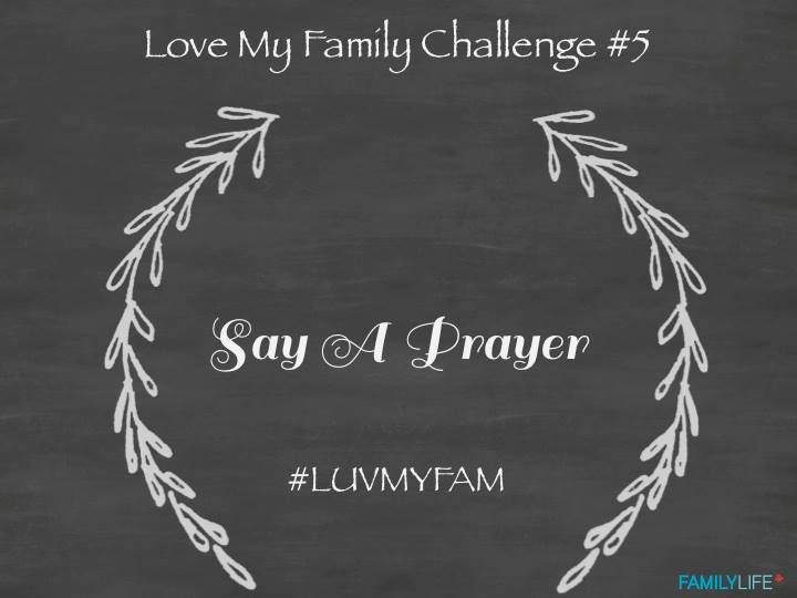 Love My Family Challenge #5. Share the Love. #luvmyfam