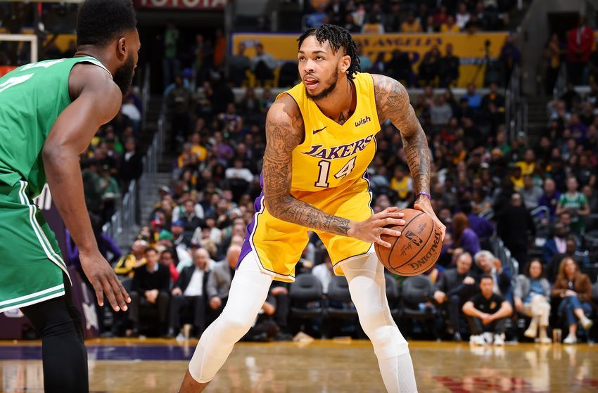 Lakers News Brandon Ingram Talks About Jerry Stackhouse As Mentor Nba Lakeshow Brandon Ingram Ingram Lakers