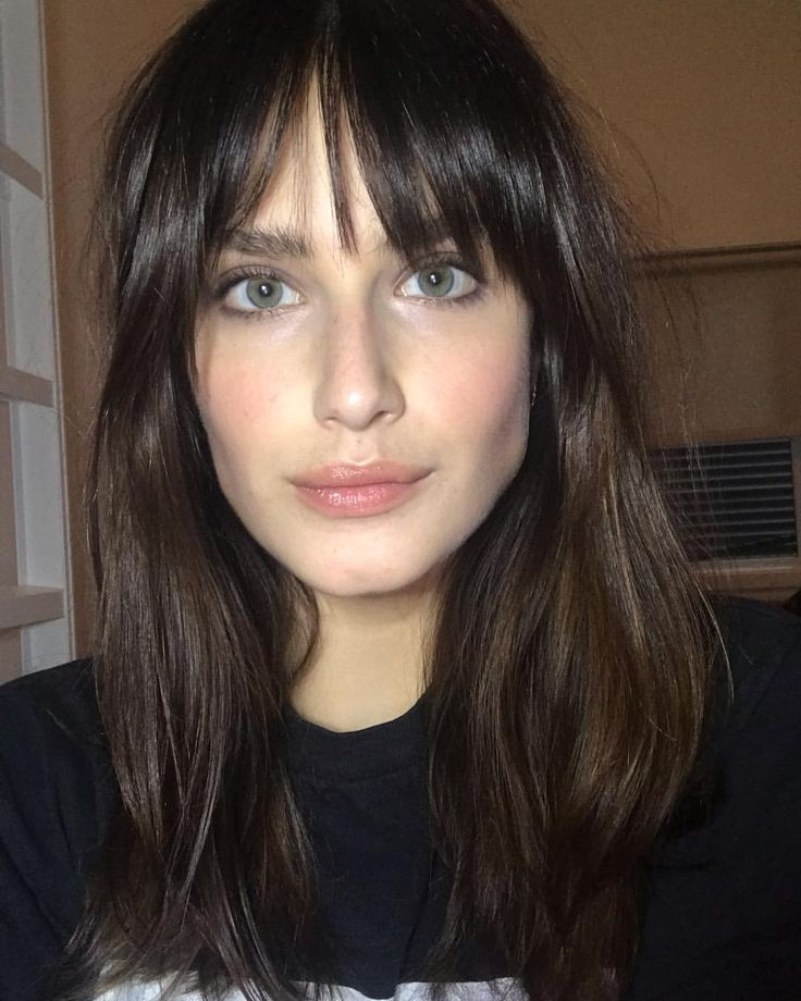 "17 Wispy Bangs Styles From Celebs Whose Bangs Are Always "" Too Good"" 