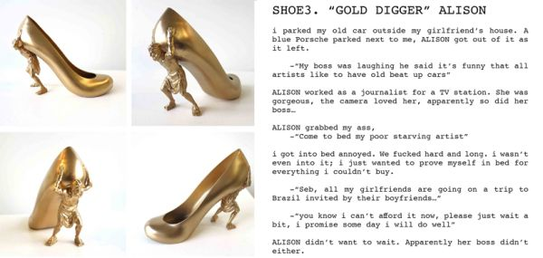 12 shoes for 12 lovers:ALISON