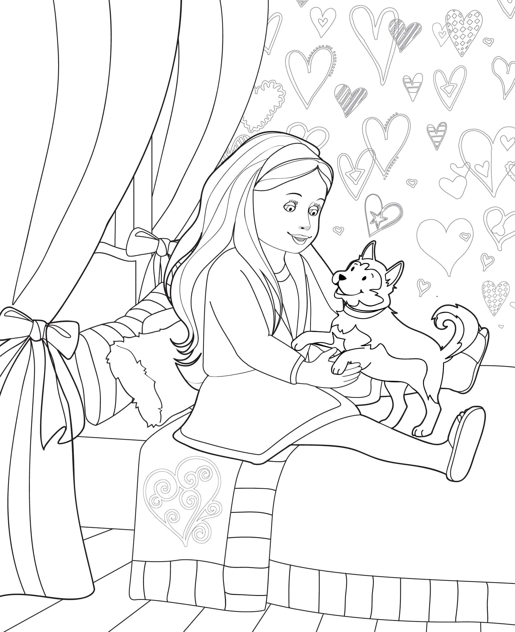 Doll Coloring Books Our Generation Coloring Books Coloring Pages Our Generation Dolls