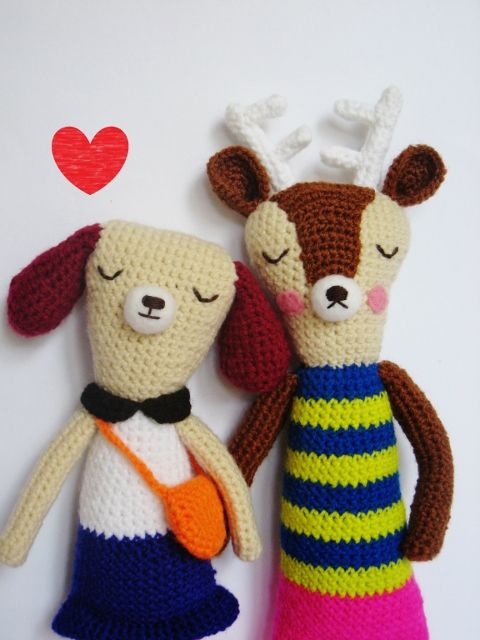 Pfang's handmade soft toys